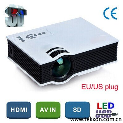 G040+ Full HD Compatible Home Portable Mini Projector