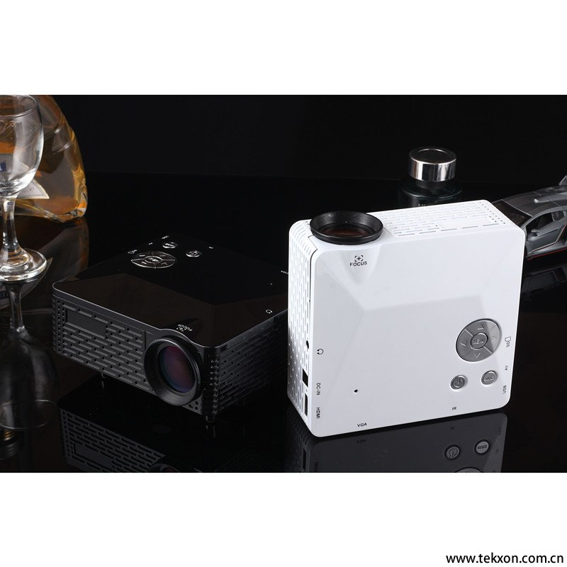 G810 Mini LED Projector LCD Portable Projector 500 Lumen Support AV/VGA/SD/USB/HDMI