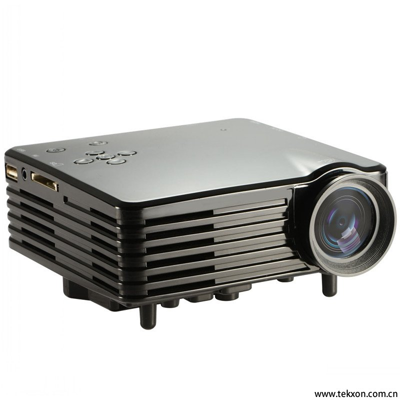 "G29 60"" Portable Mini HD LED Projector Cinema Theater, Support PC Laptop VGA input"
