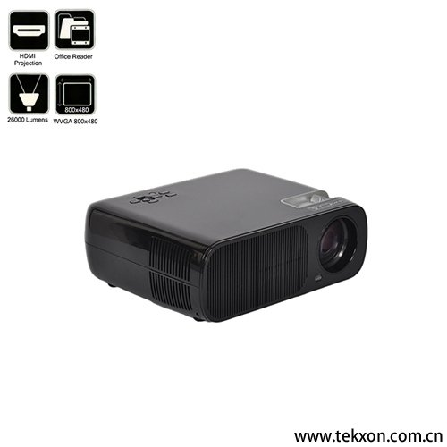 G20 1080P Compatible 2600 Lumens LCD Mini Projector
