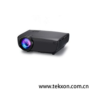 GW50 the newest portable support 1080p LED projector with 1500 lumens for home outside business