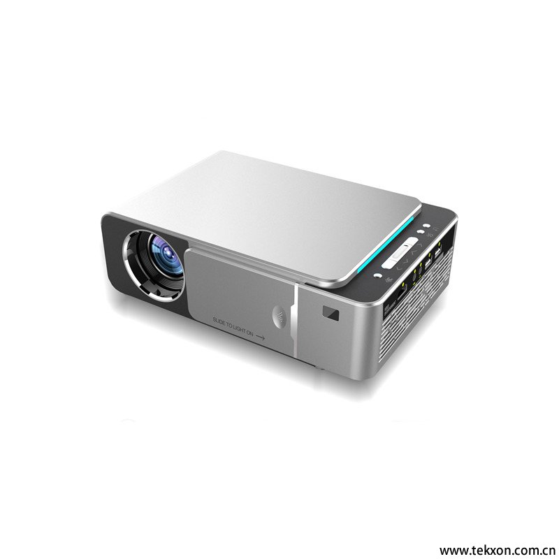 T6 3500 Lumens Portable LED Projector HD 720P HDMI WIFI 2.4G Beamer Support 1080P Home Theatre Video Player