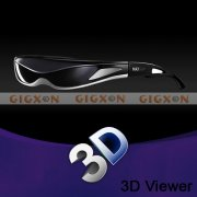 "New 80"" 3D HD Video Glasses for Multimedia Player and 3D Games"