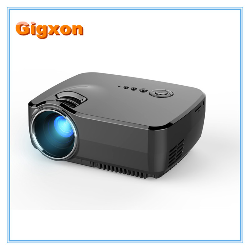Gigxon - G70 800 Lumens Support 1080 MINI Projector for Home Theater Projector GP70