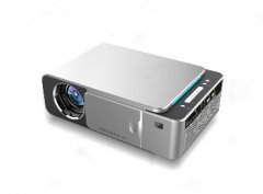 T6 LED projector Home theater HD projector 720P high resolution slider projector