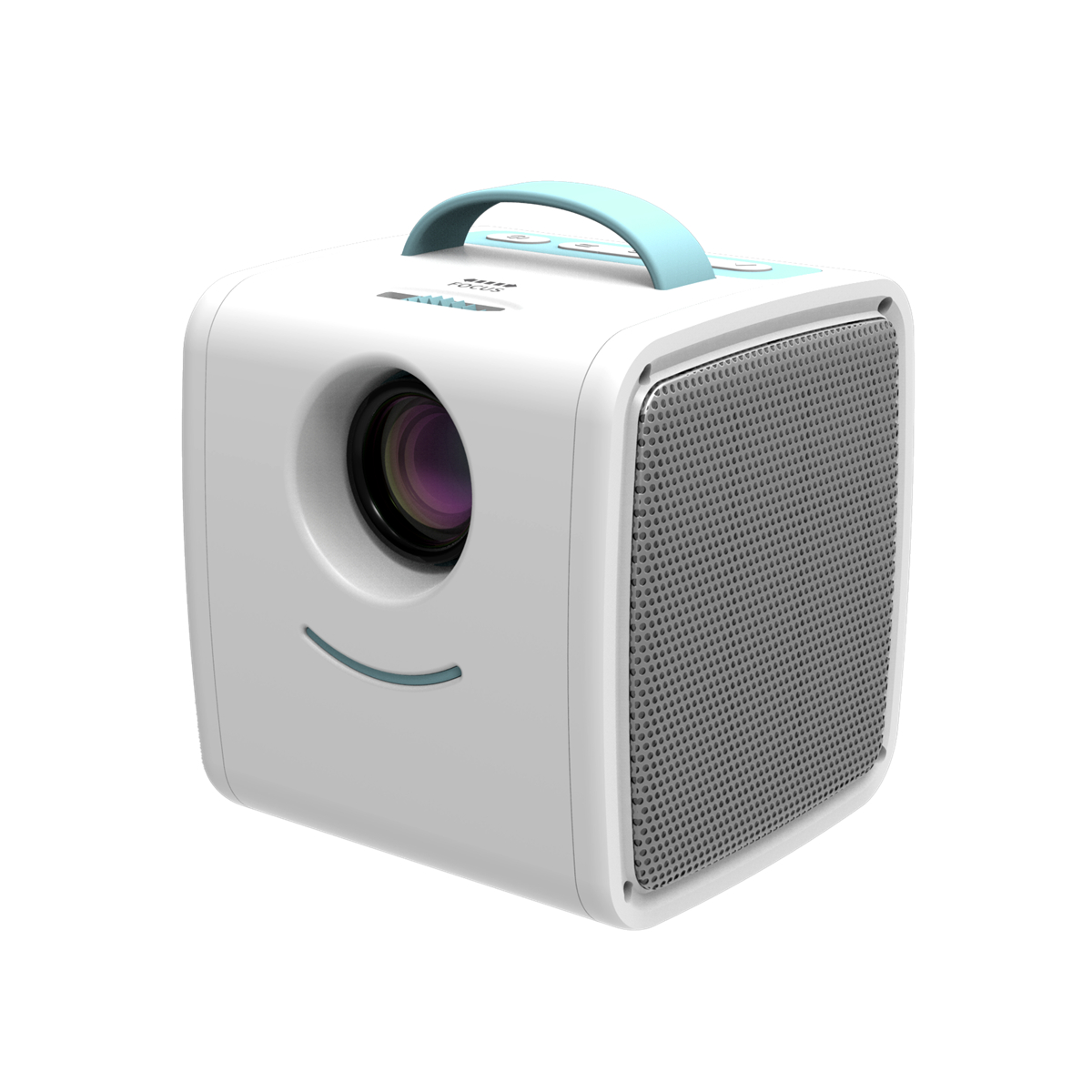 Q2Mini Cartoon Projector For Kids Learning Children Educational Portable Projector mini projector