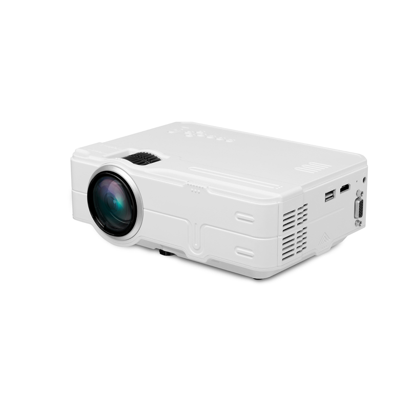 G812LED projector Home projector HD high lumen projector 1500lm 800*480