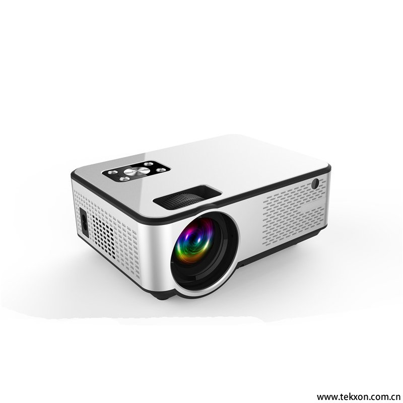 G99 Newest Projector 1280*720P Support 4K Videos Via HDMI Home Cinema Movie Video Projector Android System with Same Screen Function Optional