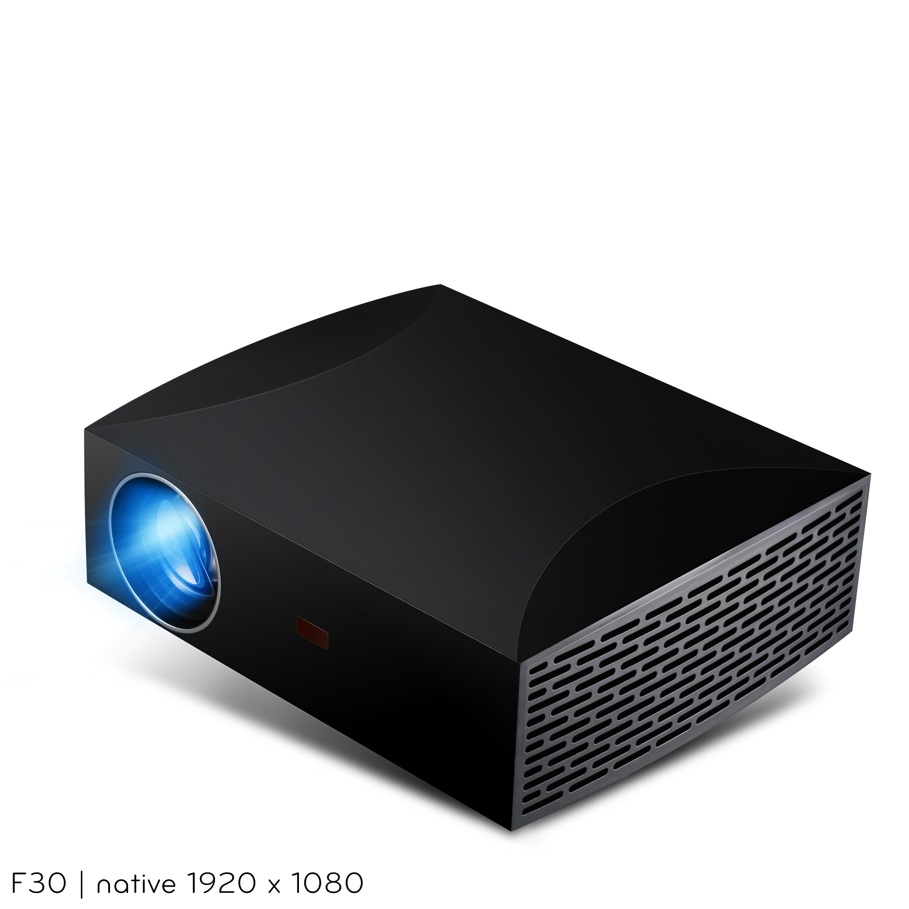 GIGXON- F30 LCD Projector WIFI Portable Projector 4200 Lumens FHD 1920 x 1080P Video Projector For Home Office Home Theater