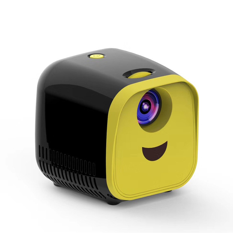 GIGXON- L1 Mini Projector L1 WIFI USB Children Portable Projector 1000 Lumens Micro Video Projector 320x240p For Family 5 orders